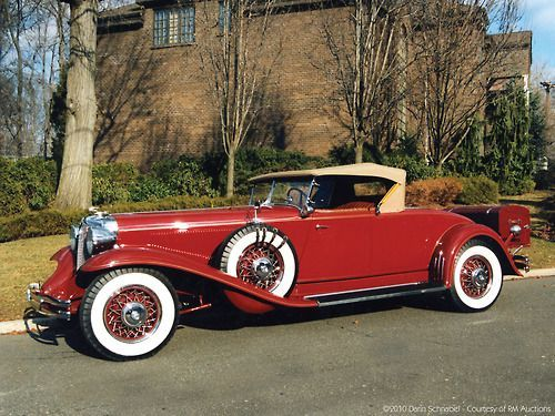 Chrysler CG Imperial Convertible Roadster 1931.
