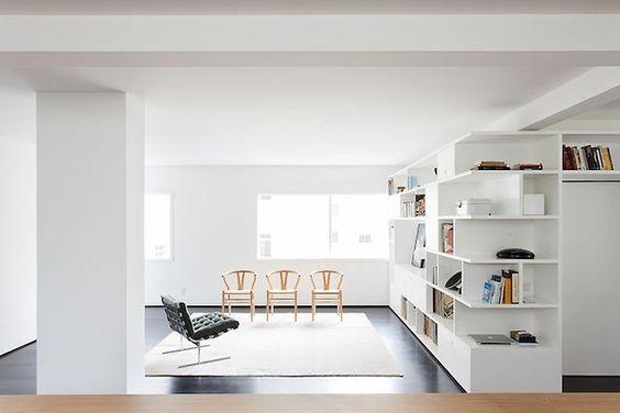 Smart apartment -open plan