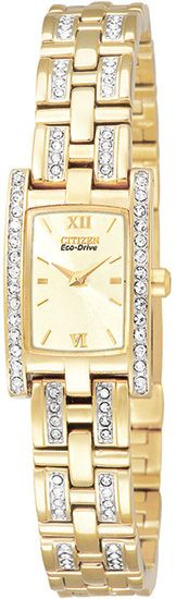 EG2352-52P - Authorized Citizen watch dealer - LADIES Citizen SILHOUETTE CRYSTAL, Citizen watch, Citizen watches
