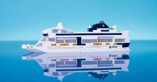 Win an MSC Meraviglia LEGO Ship {US CA} (7/31/16) via... sweepstakes IFTTT reddit giveaways freebies contests