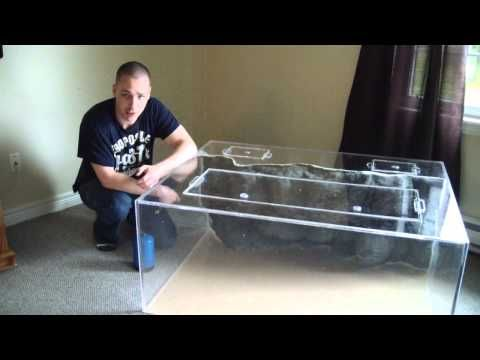 How to build an acrylic fish tank aquaponics pinterest for How to build an acrylic fish tank