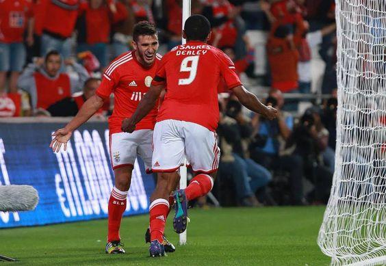 Benfica - Arouca, Derley & Salvio, 2014/15