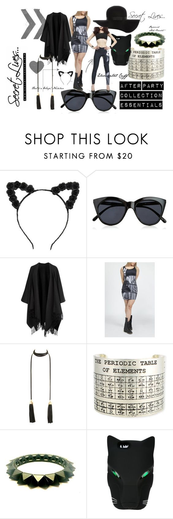 """""""After Party Collection"""" by secretlivesotw ❤ liked on Polyvore featuring Le Specs, Acne Studios, Topshop and STELLA McCARTNEY"""