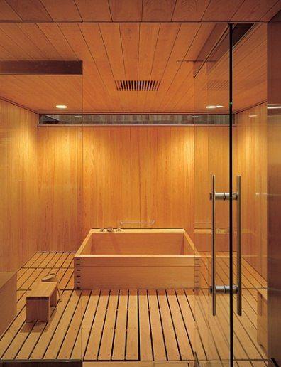 Master bath the end and inspiration on pinterest for Enlighten sauna