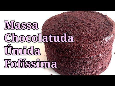 Bolo De Chocolate Fofinho E Pretinho Apenas 2 Ovos Youtube