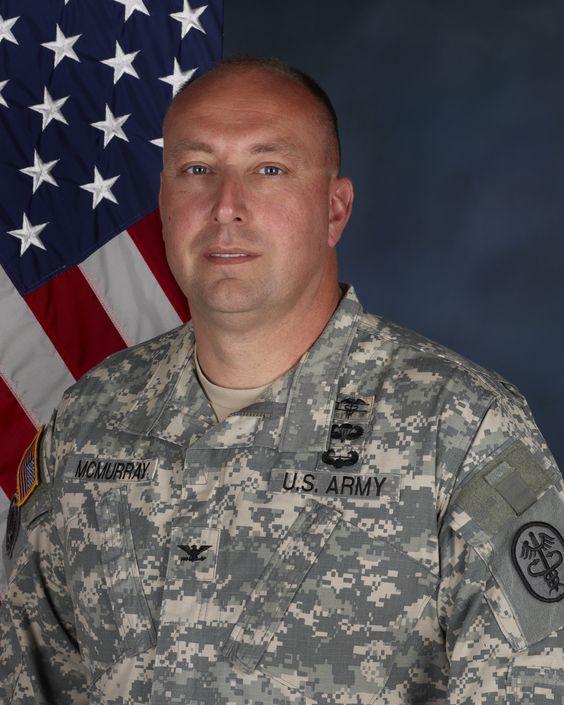 COL John McMurray, Commander, Fort Drum MEDDAC, August 12, 2015