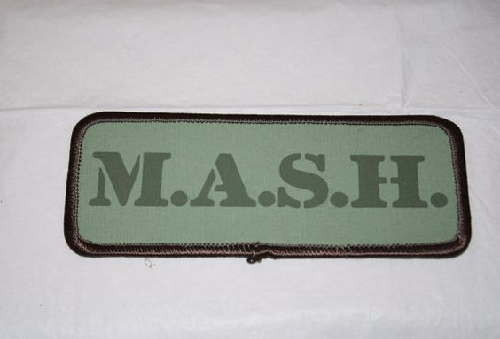 Very Cool  Vintage MASH Patches by rohovintage on Etsy, $3.00