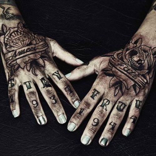 49 Best Hand Tattoos For Men Badass Designs Ideas 2019 Hand Tattoos For Guys Tattoos For Guys Badass Tattoos For Guys