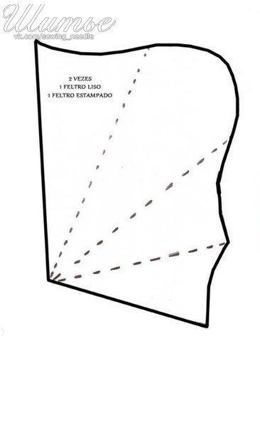 Ideas para el hogar: Costura fácil estuche para guardar las tijeras