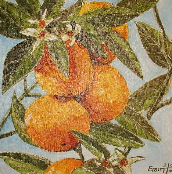 """""""Orangen am Ast"""" von Emo"""