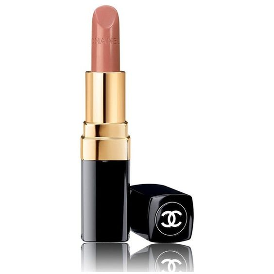 Chanel Beauty Rouge Coco Ultra Hydrating Lip Color/0.12 Oz. (€34) ❤ liked on Polyvore featuring beauty products, makeup, lip makeup, lipstick, adrienne, beauty, chanel lipstick, moisturizing lipstick, chanel and hydrating lipstick