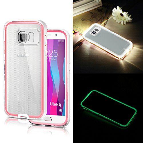 Galaxy S6 Case,ULAK® [Lumenair Series] LED Case Samsung ...