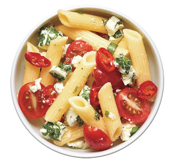 penne tomatoes pasta salad basil tomato basil lunch ideas school lunch ...