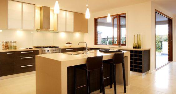 Colección Classico para cocinas y baños de CaesarStone. BricoDecoracion.com
