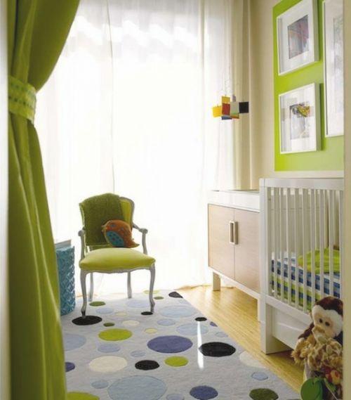 Inspiration : 10 Beautiful Nurseries    my greens and blues!