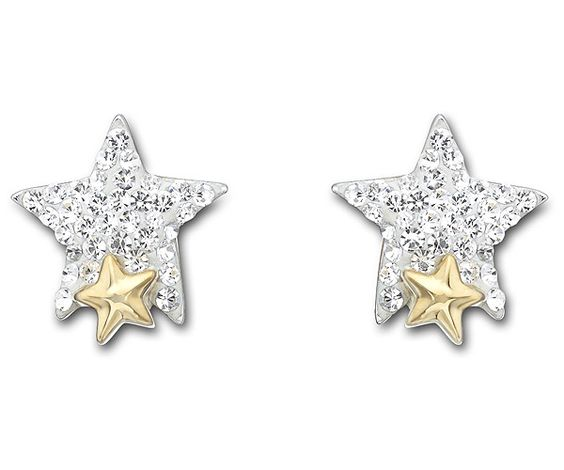 Tough Star Pierced Earrings