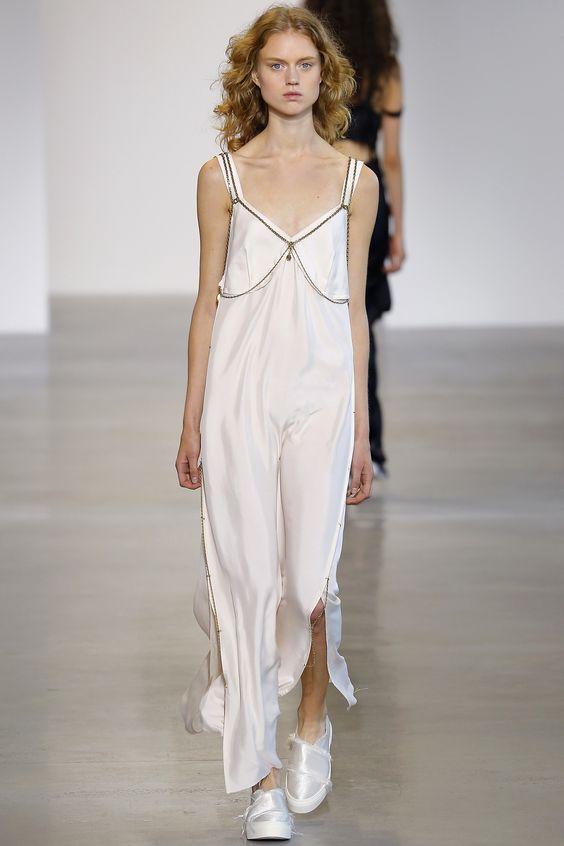 Calvin Klein Collection Spring 2016 Ready-to-Wear Fashion Show - Frida Westerlund: