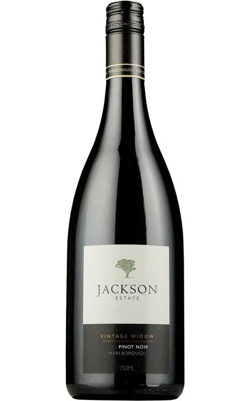 Jackson Estate Vintage Widow Pinot Noir 2014 Marlborough 12 Bottles Pinot Noir Pinot Red Wine