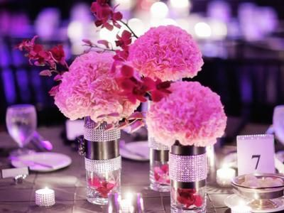 Couples Amp Co Cant Afford Expensive Centerpieces Check Out This 7 Simple DIY Wedding