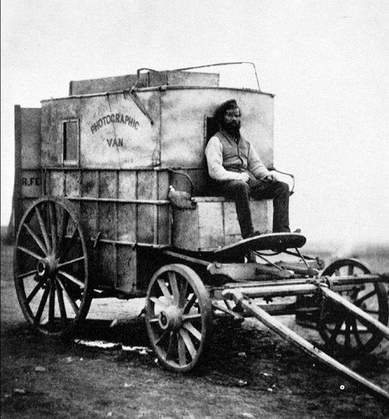 Fenton's Photographic Van,1855 Wartburg Faculty edu