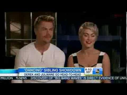 Julianne Hough & Derek Hough Interview - Move on Tour - Good Morning Ame...