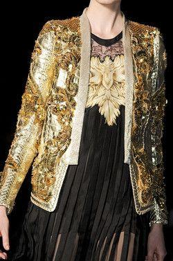Roberto Cavalli at Milan Fashion Week Spring 2012