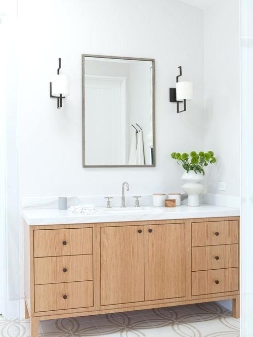 Architecture White Oak Vanity Medium Size Of Bathrooms Inch