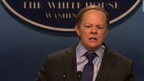 "Actress Melissa McCarthy made an appearance on ""Saturday Night Live"" to take on the role of White House Press Secretary Sean Spicer."