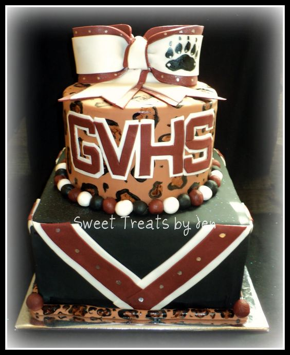 Cheerleading Cake it should really be MHMS though :)
