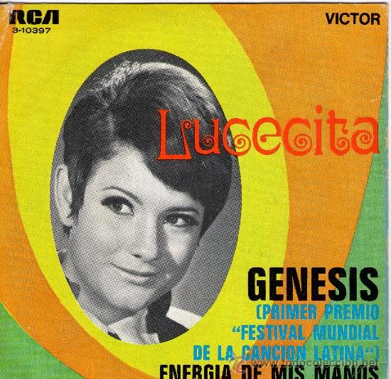 Lucecita Benitez | 1969 – LUCECITA BENÍTEZ- Genesis