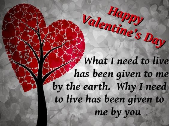 Happy Valentines Day Romantic SMS in English