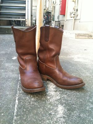Vtg Red Wing Pecos 866 USA Made Engineer Boot Sz 10 D Crepe Sole ...