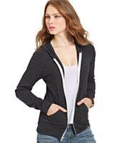 Alternative Sweater, Long-Sleeve Hooded Sweatshirt