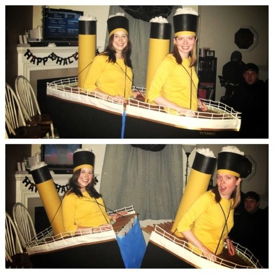 Halloweenspiration: The Titanic | 33 Clever Halloween Costumes You'll Want To Pin Immediately