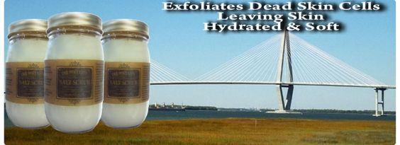 Holy City Dead Sea Salt Scrub from Charleston, SC
