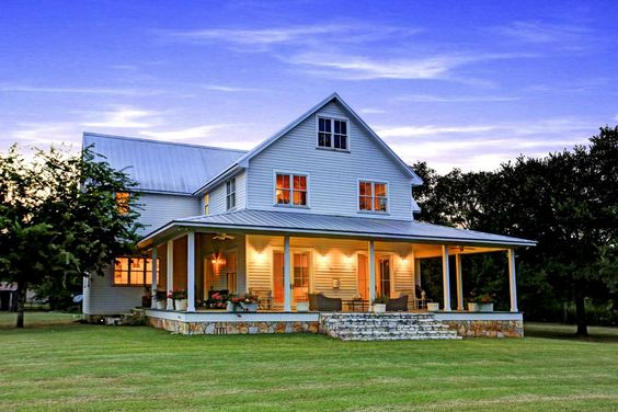 Farmhouse the porch and porches on pinterest for South texas house plans