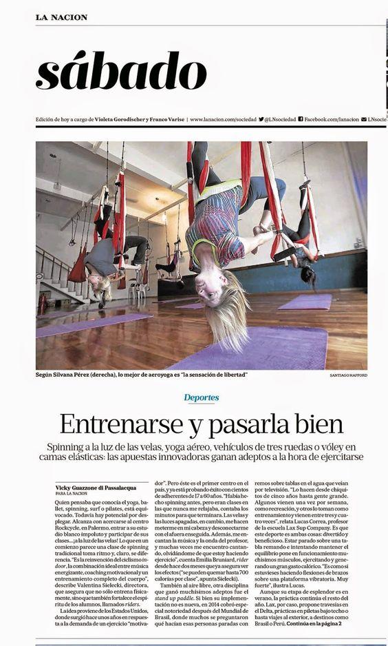 yogacreativo.com: Video: Ejercicio Yoga Aéreo, Curso Formación Profesores AeroYoga® con Rafael Martinez