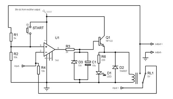power supply short circuit protection