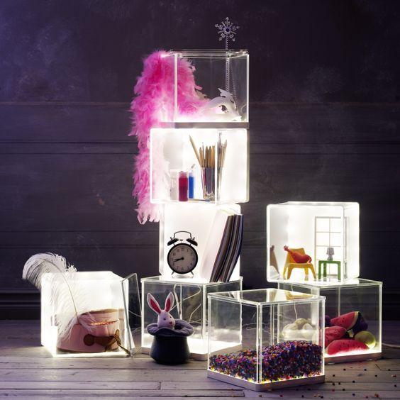 SYNAS LED light box, clear   Led Light Box, LED and Boxes