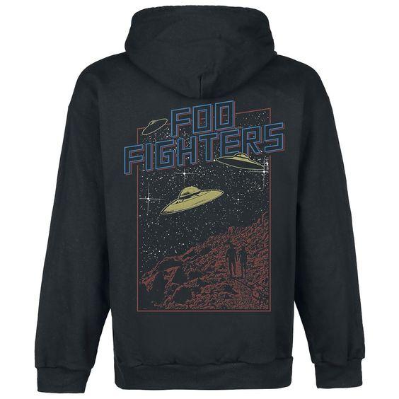 Ufos - Hooded zip by Foo Fighters
