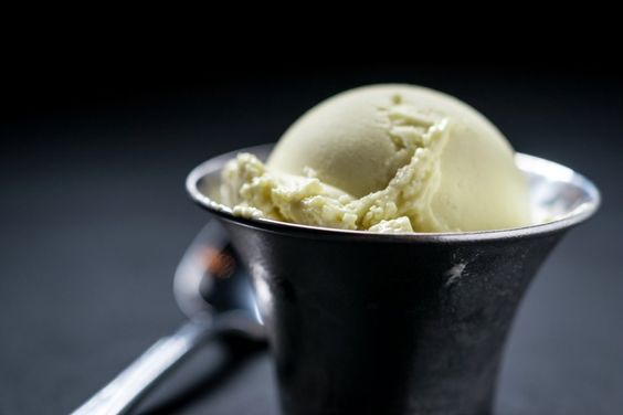 avocado honey lime ice cream
