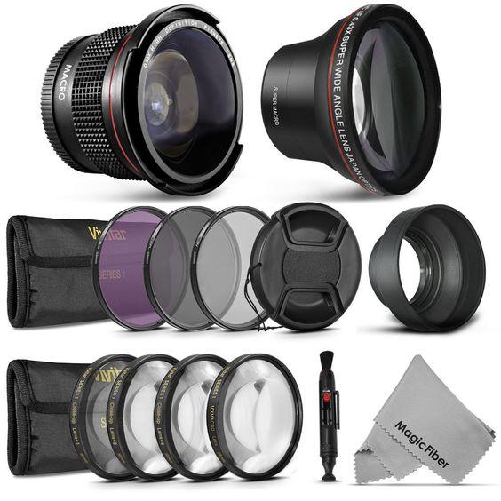 58MM Lens Set & Filter Kit for Canon EOS 1200D 1100D 700D 650D 600D 550D…