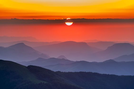 Sunset in Balkans | Evgeni Dinev #photography