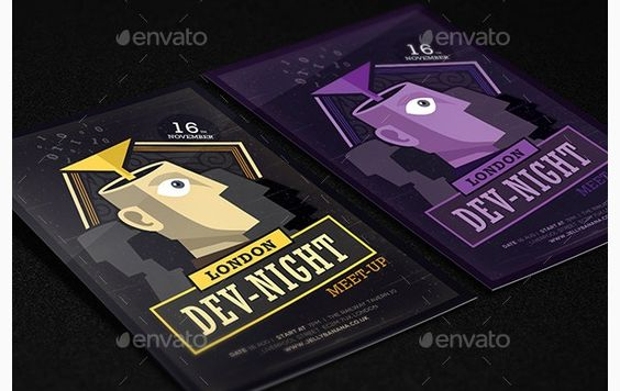 Creative Meeting Invitation Letters \ Flyer Templates Creative - invitation letters