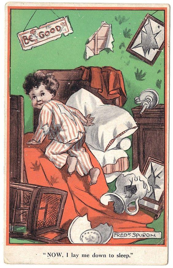 Fred Spurgin postcard, c.1910: