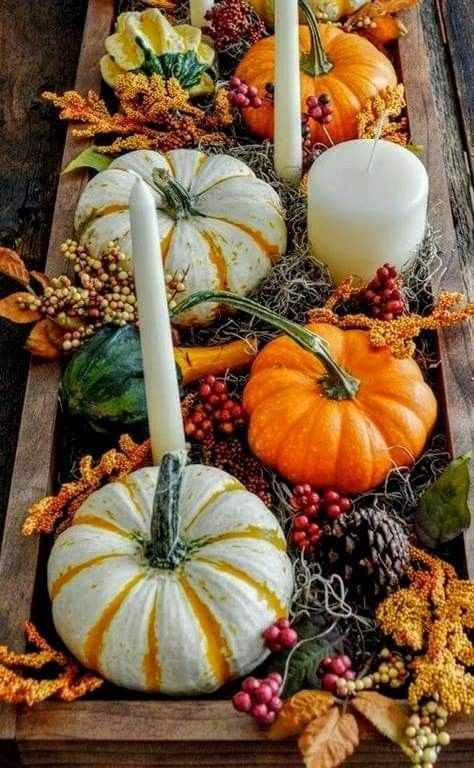 Pin By Becky Cagwin On Thanksgiving Giving Thanks Fall Decor Decor Birthday Decorations