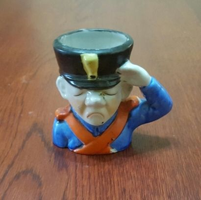 Soldier egg cup. Part of the Egg-Centric Collection, Australia