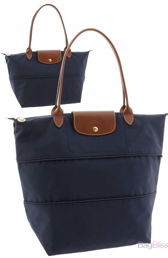 Longchamp \u0026quot;Le Pliage\u0026quot; Expandable Tote ~ the only travel bag you will ...