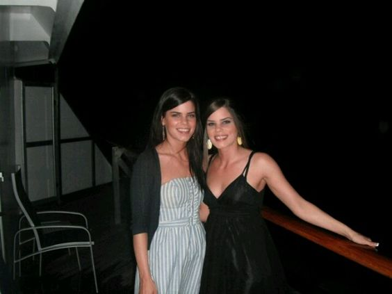Lauren and I 2010 ...(look at ur hair sis! It's bot short and blonde! Lol love it either way)