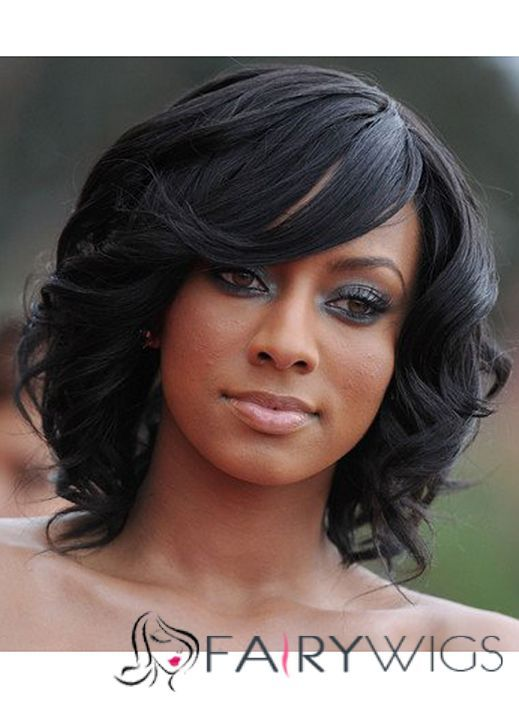 Cool Black Hair Wigs Wavy Black Hair And Wigs For Black Women On Pinterest Short Hairstyles Gunalazisus